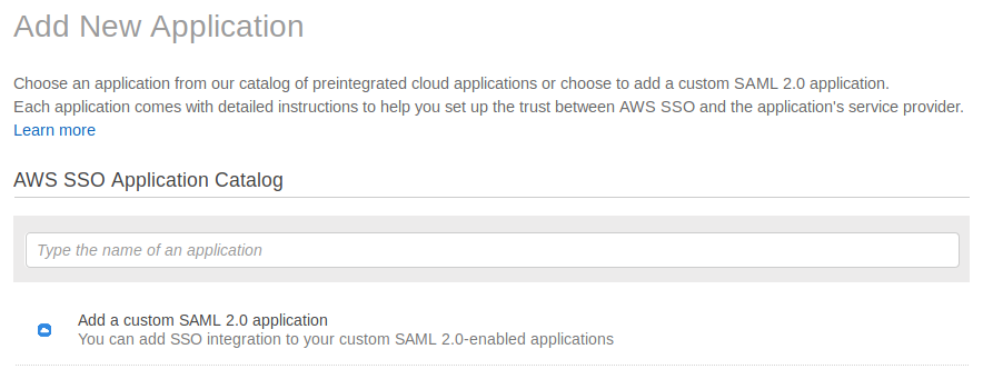 SSO in AWS - Insturctions - Documentation - Bugsee